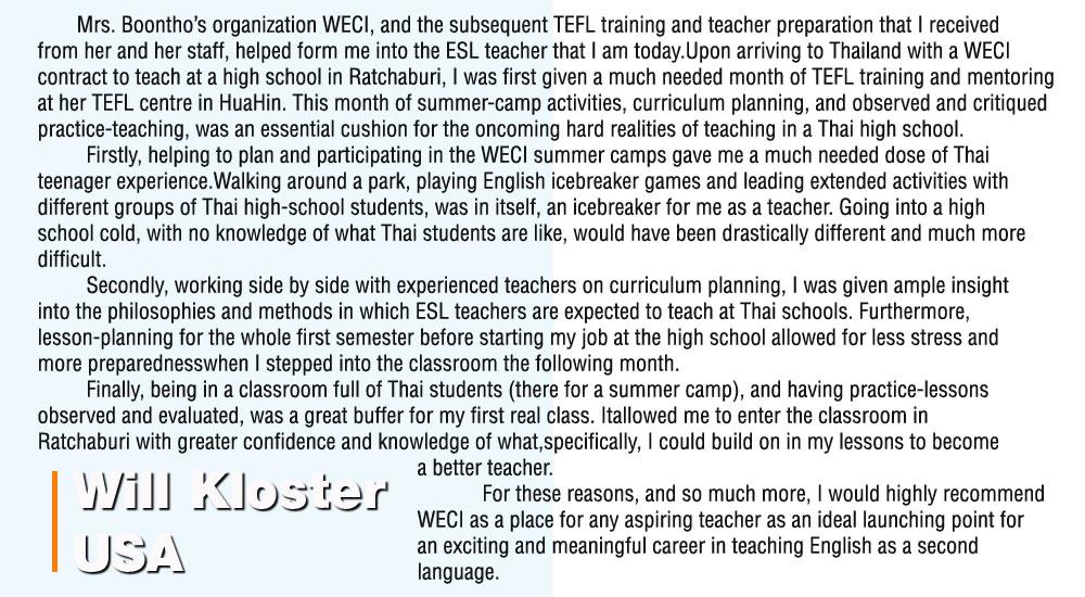 TEFL-Testimonial-Will-Kloster-1