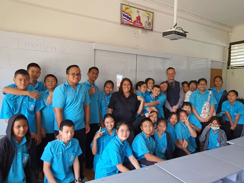 Teaching Practice Program at HuaHin School